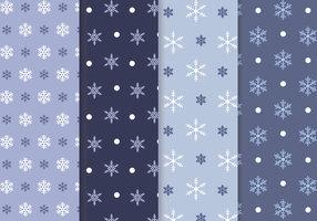 Free Snowflake Muster Vektor