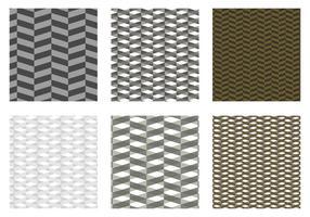 Haringbone patroon zwarte vector