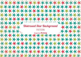 Old Distressed Star Background