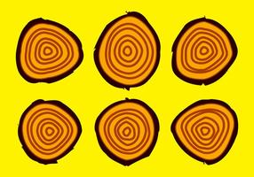 Gratis Tree Rings Vector Illustratie # 16