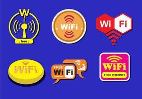 Vários logotipos WiFi