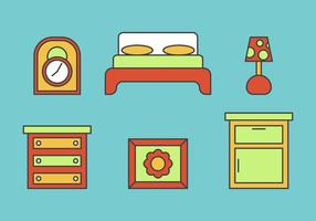 Gratis Kids Room Vector Pictogrammen # 8