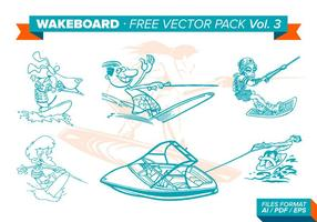 Wakeboard Free Vector Pack Vol. 3
