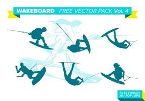 Wakeboard Gratis Vector Pack Vol. 4
