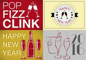Free Multiple New Years Vector