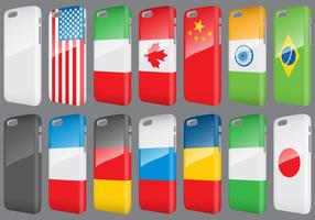 Flags Phone Cases vector