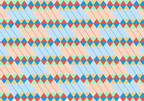 Zusammenfassung Red Geometric Pattern Vector