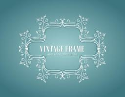 Vintager Rahmen
