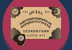 Ouija Illustratie Vectorial
