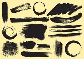 Vecteurs de traçage de peinture