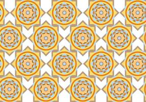 Vecteur de motif géométrique de cercle abstrait