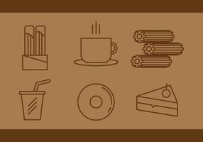 Free Churros Vector Icons #1