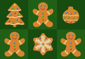 Gratis Gingerbread Christmas Vector