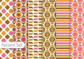 Colorful Retro Pattern design vector