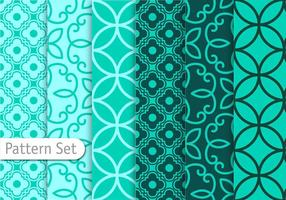 Decorative Geometric Pattern Set vector
