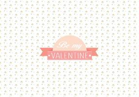 Fondo del patrón del día de tarjeta del día de San Valentín