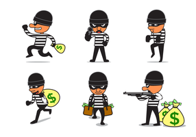 Free Robber Vector