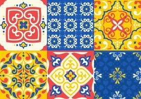 Azulejo Tile Vectors