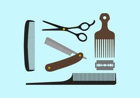 Ferramentas de barbeiro