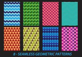 Seamless Geometric Herringbone Patterns