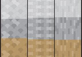 Stenen pad vectoren