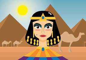 vettore di cleopatra