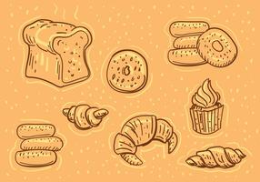 Bäckerei-Illustrationen
