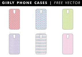 Girly Phone Cases Gratis Vector
