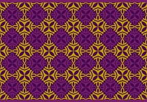 Seamless Thai Pattern Vector Background