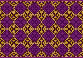 Naadloze Thaise Patroon Vector Achtergrond