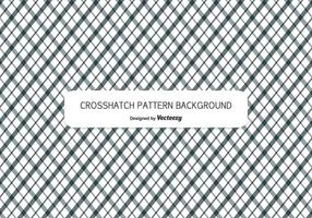 Crosshatch Style Pattern Bakgrund