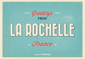 Rochelle france hälsning illustration