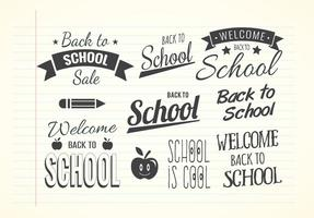 Cool Back To School Label Set