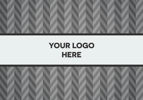 Free Gray Herringbone Logo Background