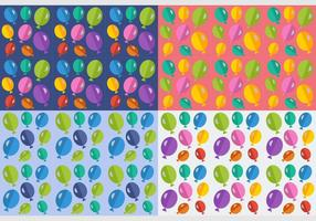 Free Balloons Seamless Patterns