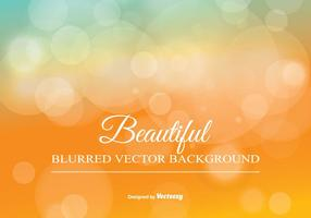 Blurred Bokeh Background Illustration vector