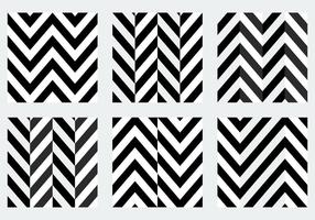 Black and White Herringbone Patterns
