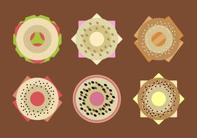 Free Filled Bagels Vector