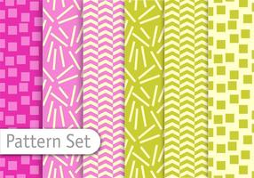 Decorative Colorful Pattern Set