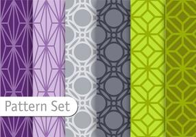 Orient Geometric Pattern Set vector