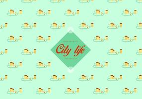 City pattern background