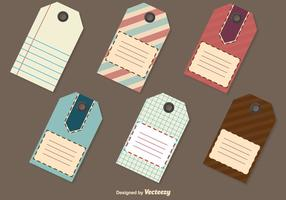 Retro Price Tag Templates