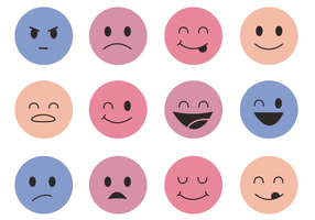 Vector Smiley Faces Vectorial