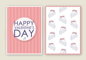 Tarjeta del día de San Valentín gratis Vector