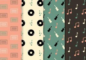 Free Music Pattern Vector