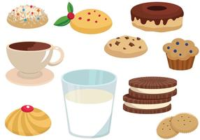 Vetores de cookies gratuitos