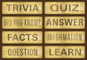 Golden Trivia Titles
