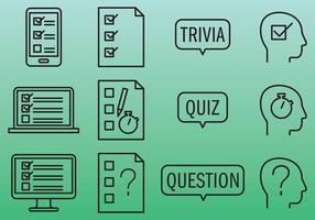 Quiz-ikoner