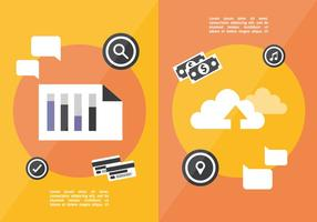 Fundo de Vector de Marketing Digital Plano Gratuito