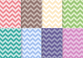 Gratis Chevron Patroon Vector